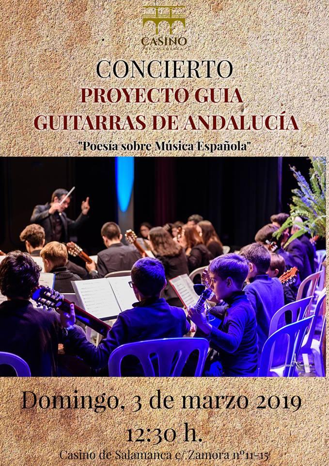 Casino de Salamanca Poesía sobre Música Española Marzo 2019