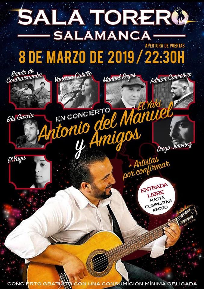 Sala Torero Antonio del Manuel Salamanca Marzo 2019
