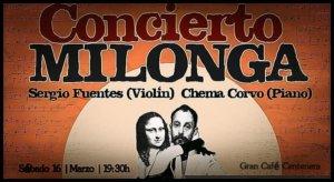 Centenera Sergio Fuentes & Chema Corvo Salamanca Marzo 2019