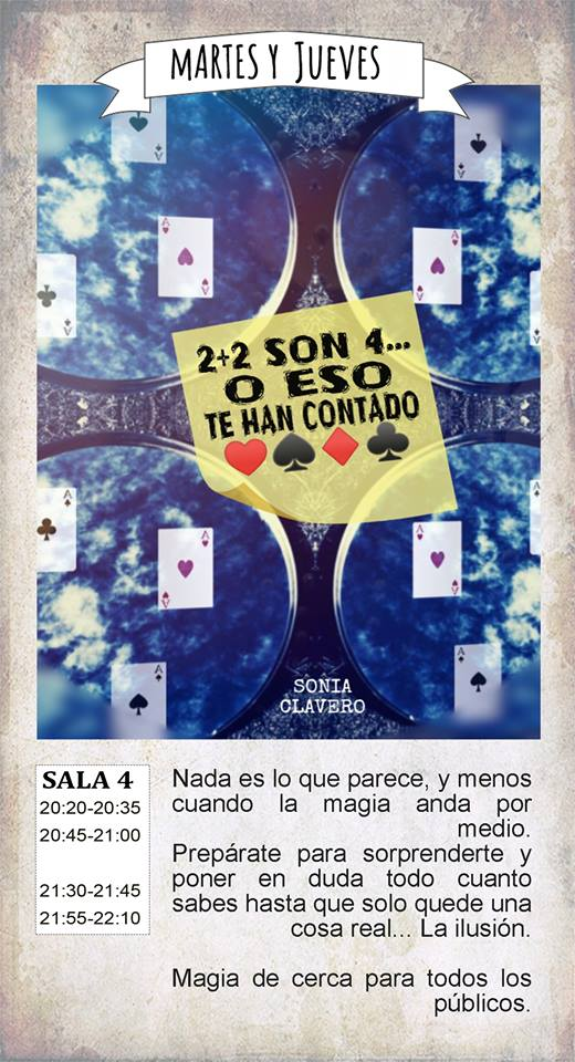 La Malhablada 2+2 son 4... O eso te han contado Salamanca Marzo 2019