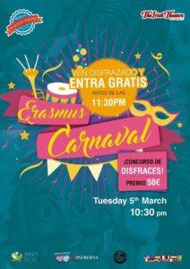 The Irish Theatre Carnaval Erasmus Salamanca Marzo 2019