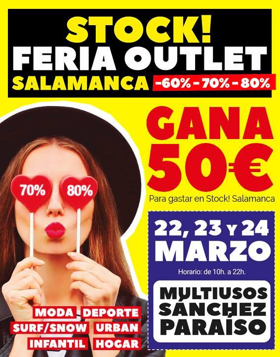 Sánchez Paraíso Feria Outlet Salamanca Marzo 2019