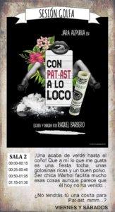 La Malhablada Con pat-ast a lo loco Salamanca Marzo 2019
