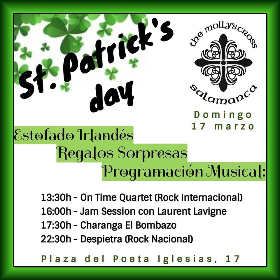 The Molly's Cross Saint Patricks Party Salamanca Marzo 2019