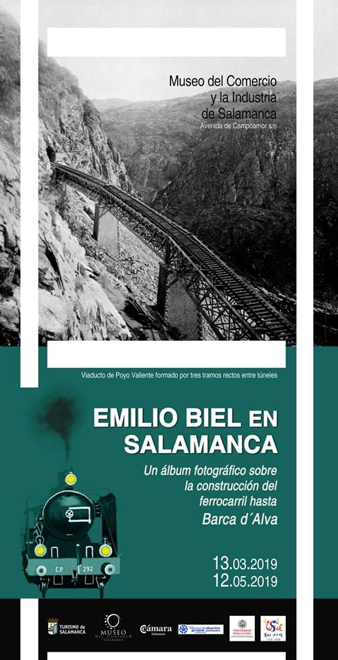 Museo del Comercio y de la Industria Emilio Biel (1838-1915) en Salamanca Marzo abril mayo 2019