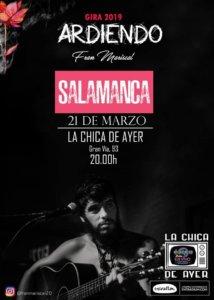 La Chica de Ayer Fran Mariscal 21 de marzo de 2019 Salamanca