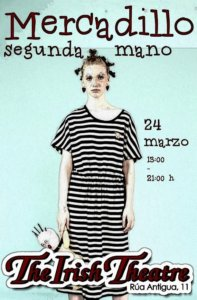 The Irish Theatre Mercadillo de Segunda Mano Salamanca Marzo 2019