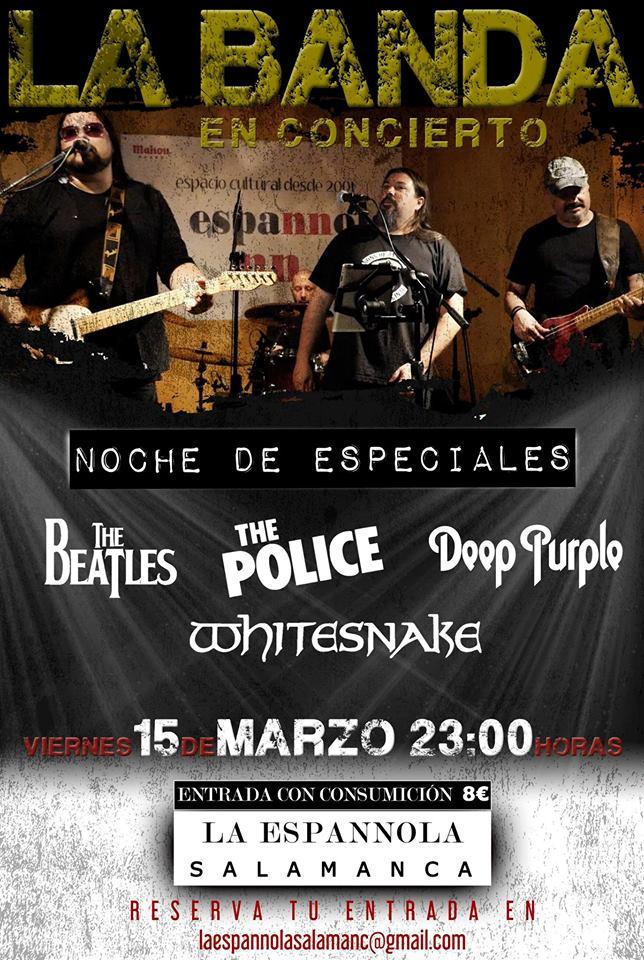 La Espannola La Banda Salamanca Marzo 2019