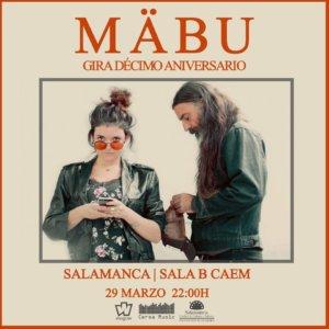 Centro de las Artes Escénicas y de la Música CAEM Mabü Conciertos Sala B Salamanca Marzo 2019