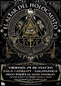 Camelot El Altar del Holocausto Salamanca Marzo 2019