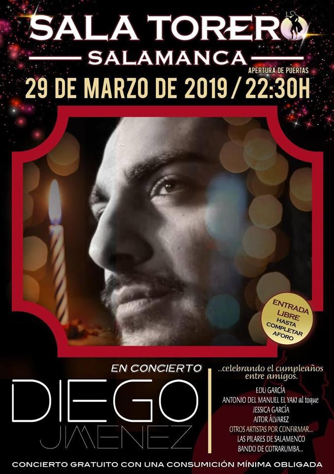 Sala Torero Diego Jiménez Salamanca Marzo 2019