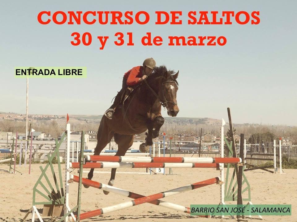 Campo de Tiro y Deportes Concurso de Saltos Salamanca Marzo 2019
