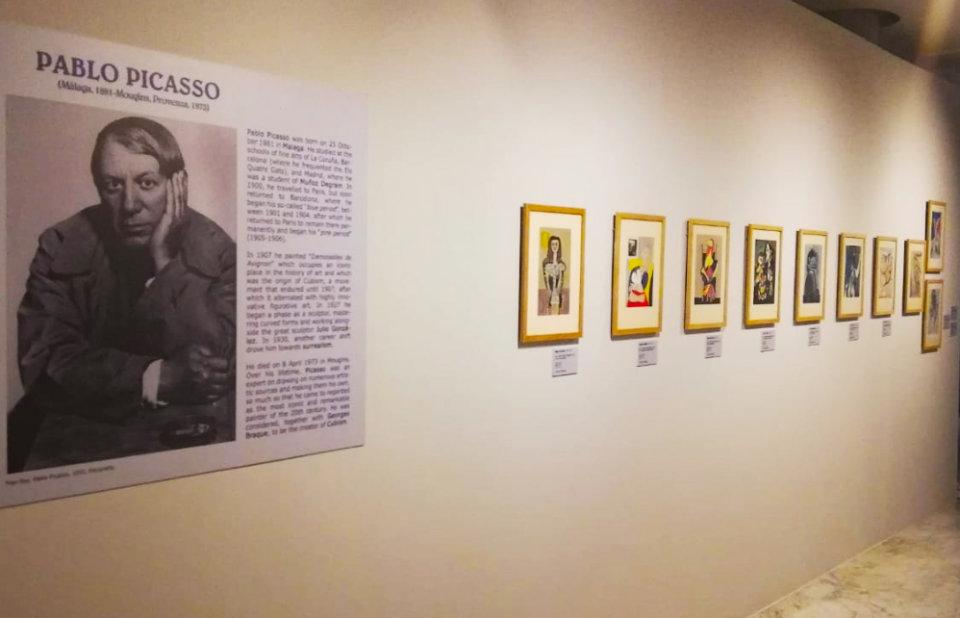 Museo de Art Nouveau y Art Déco Casa Lis Picasso - Miró - Dalí. Los Grandes Maestros Españoles del Siglo XX. Obra gráfica Salamanca 2019