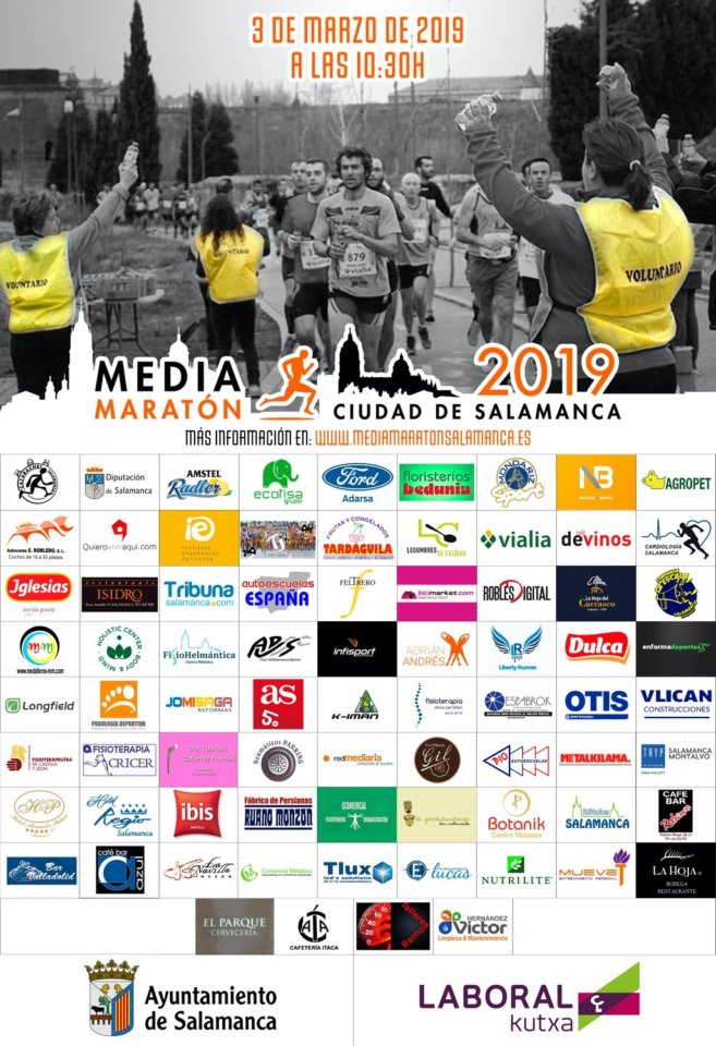 Media Maratón Ciudad de Salamanca Marzo 2019