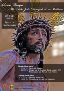 Iglesia de San Sebastián Pregón Joven de la Semana Santa Salamanca Marzo 2019