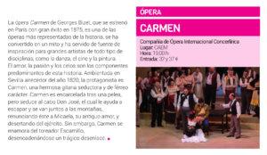 Centro de las Artes Escénicas y de la Música CAEM Carmen Salamanca Marzo 2019