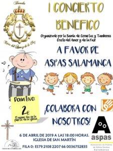 Iglesia de San Martín I Concierto Solidario Salamanca Abril 2019
