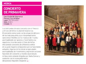 Teatro Liceo Concierto de Primavera Salamanca Marzo 2019