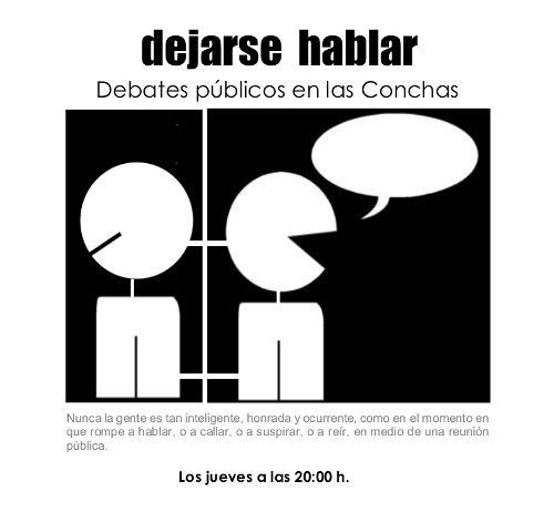 Casa de las Conchas Dejarse hablar: Debates públicos en las Conchas Salamanca