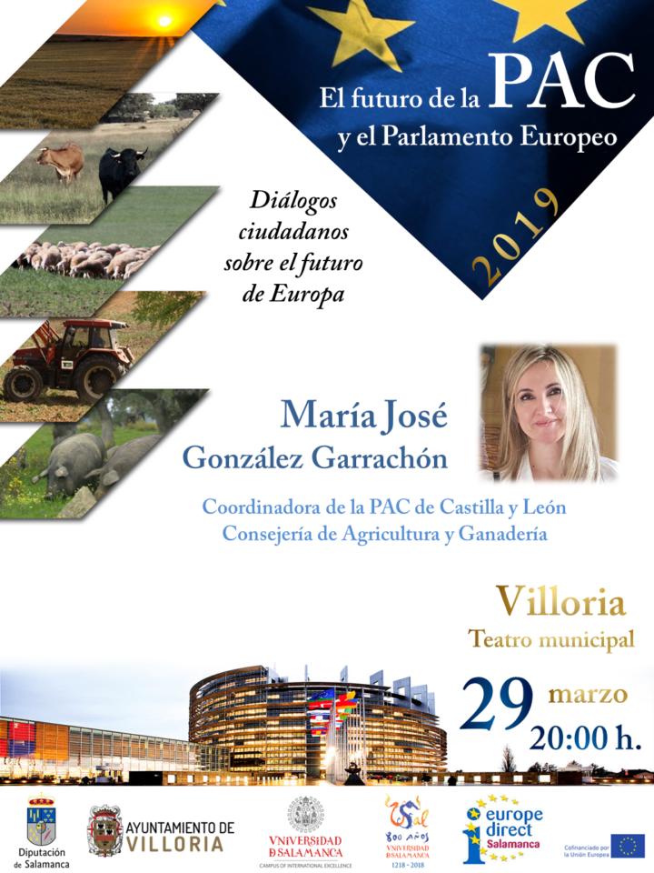 Villoria El futuro de la PAC y el Parlamento Europeo Marzo 2019