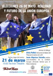 The Irish Theatre Elecciones 26 de mayo: realidad y futuro de la Unión Europea Salamanca Marzo 2019