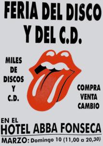 Abba Fonseca Feria del Disco y del CD Salamanca Marzo 2019