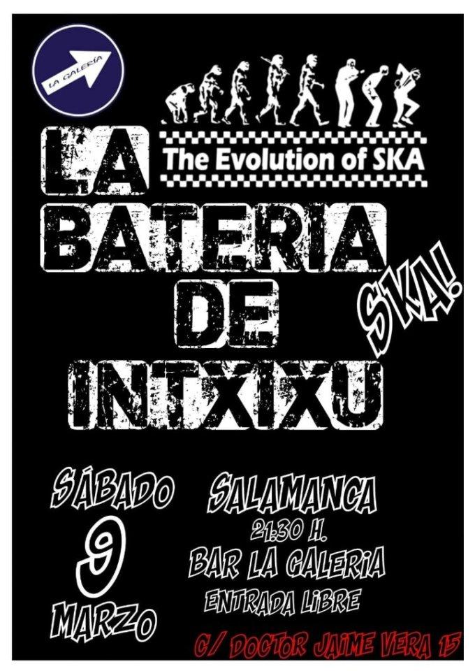 La Galería La Batería de Intxixu Salamanca Marzo 2019