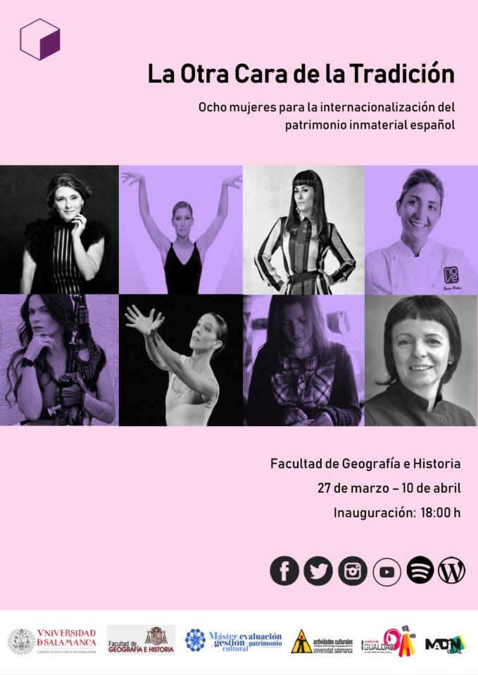 Facultad de Geografía e Historia La otra cara de la tradición Salamanca Marzo abril 2019