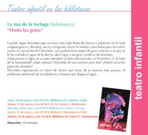 Salamanca La Risa de la Tortuga Marzo 2019