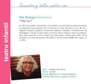 Torrente Ballester Mar Benegas Salamanca Marzo 2019