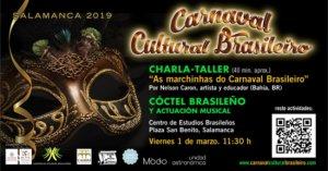 Palacio de Maldonado II Carnaval Cultural Brasileño Salamanca Marzo 2019