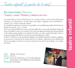 Torrente Ballester Pez Luna Teatro Salamanca Marzo 2019