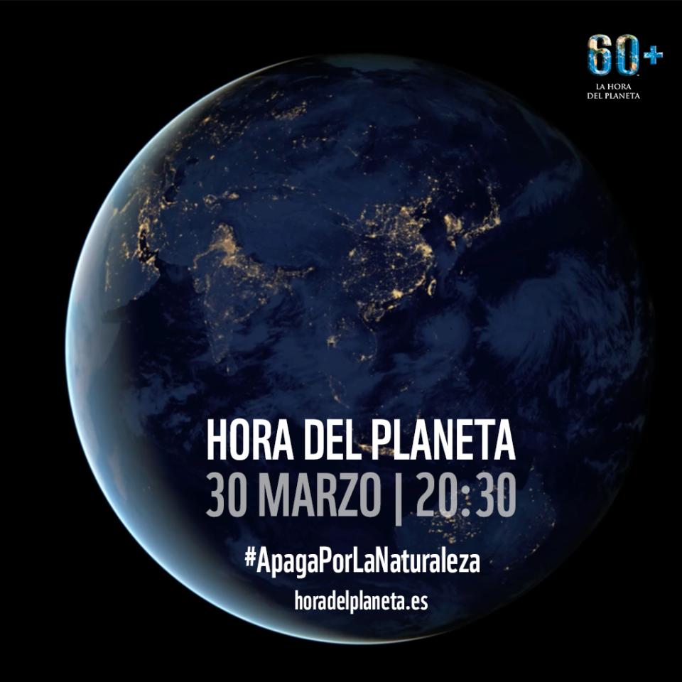 Salamanca Hora del Planeta Marzo 2019