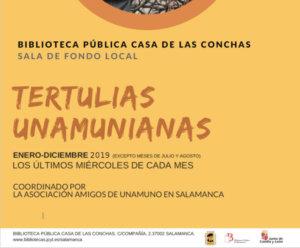 Casa de las Conchas Tertulias Unamunianas Salamanca 2019