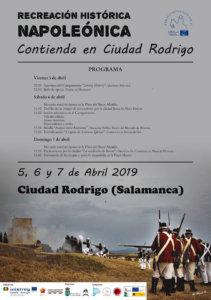 Ciudad Rodrigo Recreación Histórica Napoleónica Abril 2019