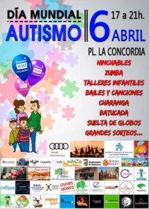 Plaza de la Concordia Día Mundial del Autismo Salamanca Abril 2019