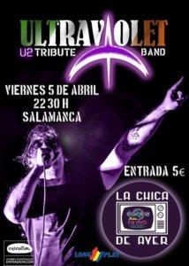 La Chica de Ayer Ultraviolet Salamanca Abril 2019