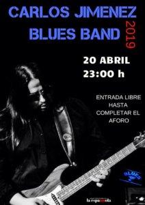 La Espannola Carlos Jiménez Blues Band Salamanca Abril 2019
