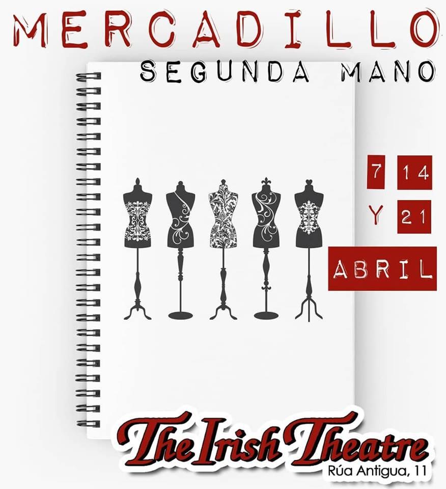 The Irish Theatre Mercadillo de Segunda Mano Salamanca Abril 2019
