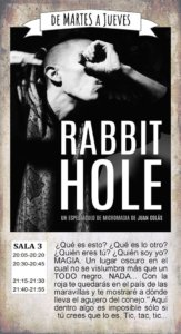 La Malhablada Rabbit hole Salamanca Abril 2019