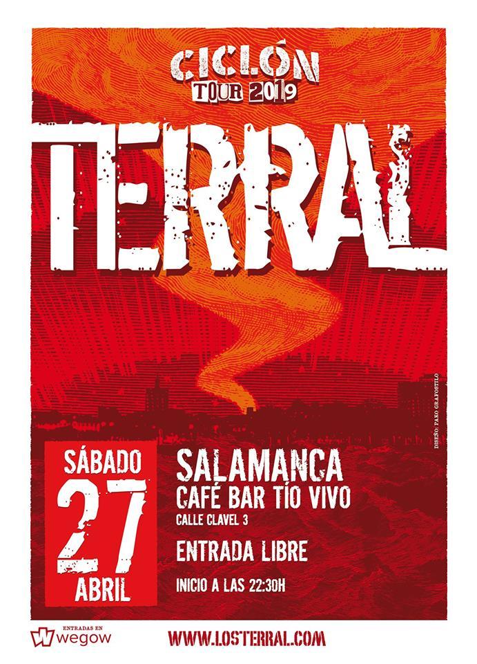 Tío Vivo Terral Salamanca Abril 2019