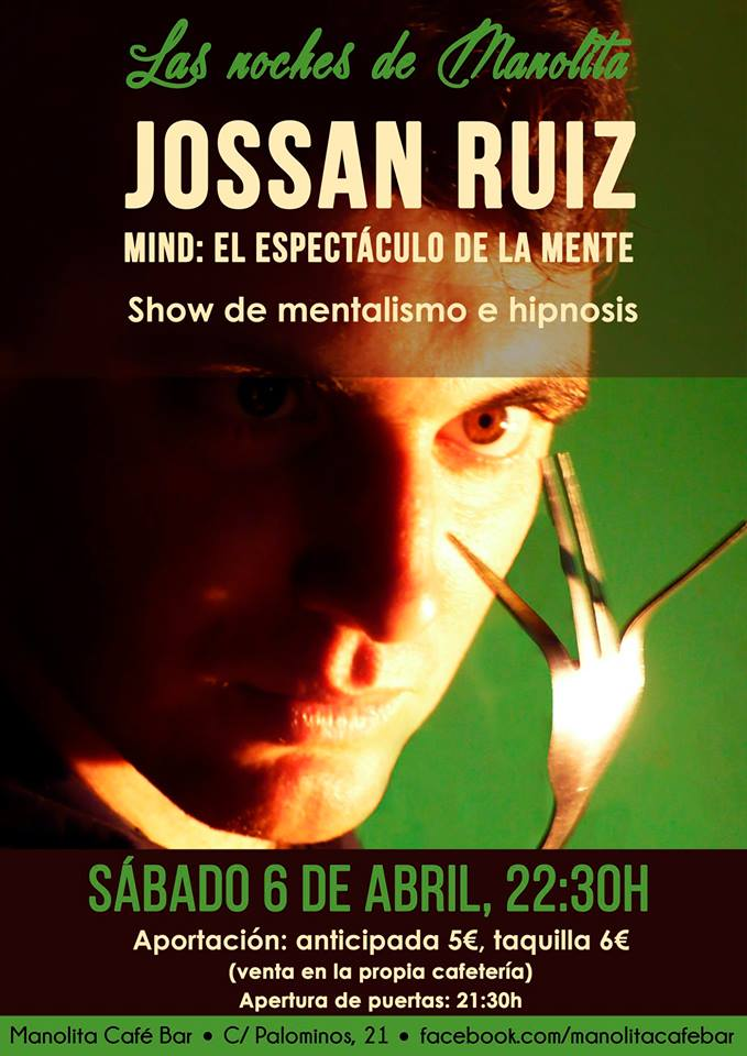 Manolita Café Bar Las noches de Manolita Jossan Ruiz Salamanca Abril 2019
