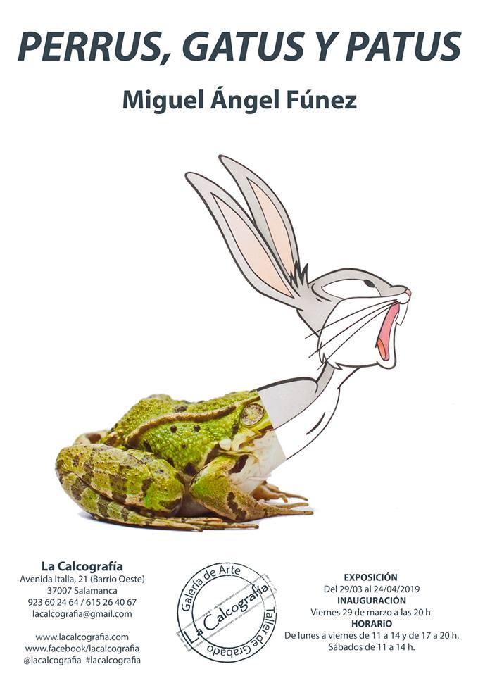 La Calcografía Miguel Ángel Fúnez Salamanca Marzo abril 2019