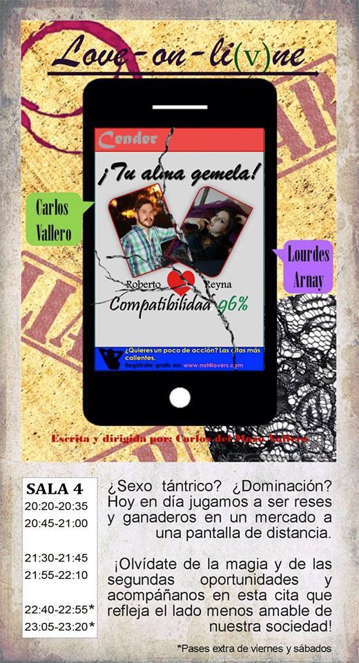 La Malhablada Love-on-li(v)ne Salamanca Abril 2019
