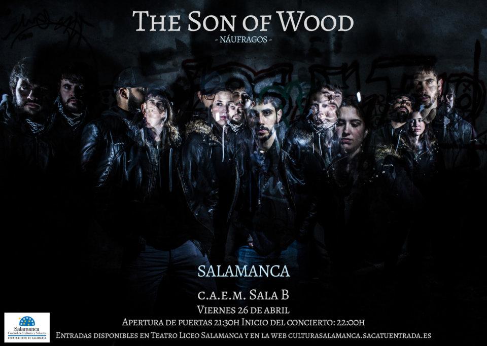 Centro de las Artes Escénicas y de la Música CAEM The Son of Wood Conciertos Sala B Salamanca Abril 2019