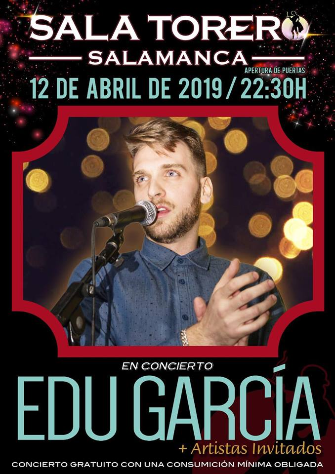 Sala Torero Edu García Salamanca Abril 2019