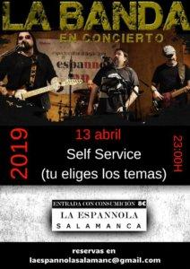 La Espannola La Banda Salamanca Abril 2019