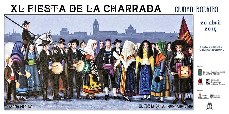 Ciudad Rodrigo XL Fiesta de la Charrada Abril 2019