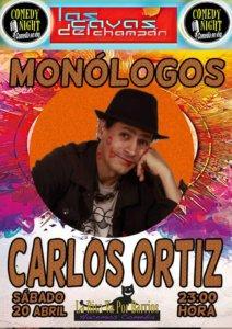 Las Cavas del Champán Carlos Ortiz Comedy Night Salamanca Abril 2019