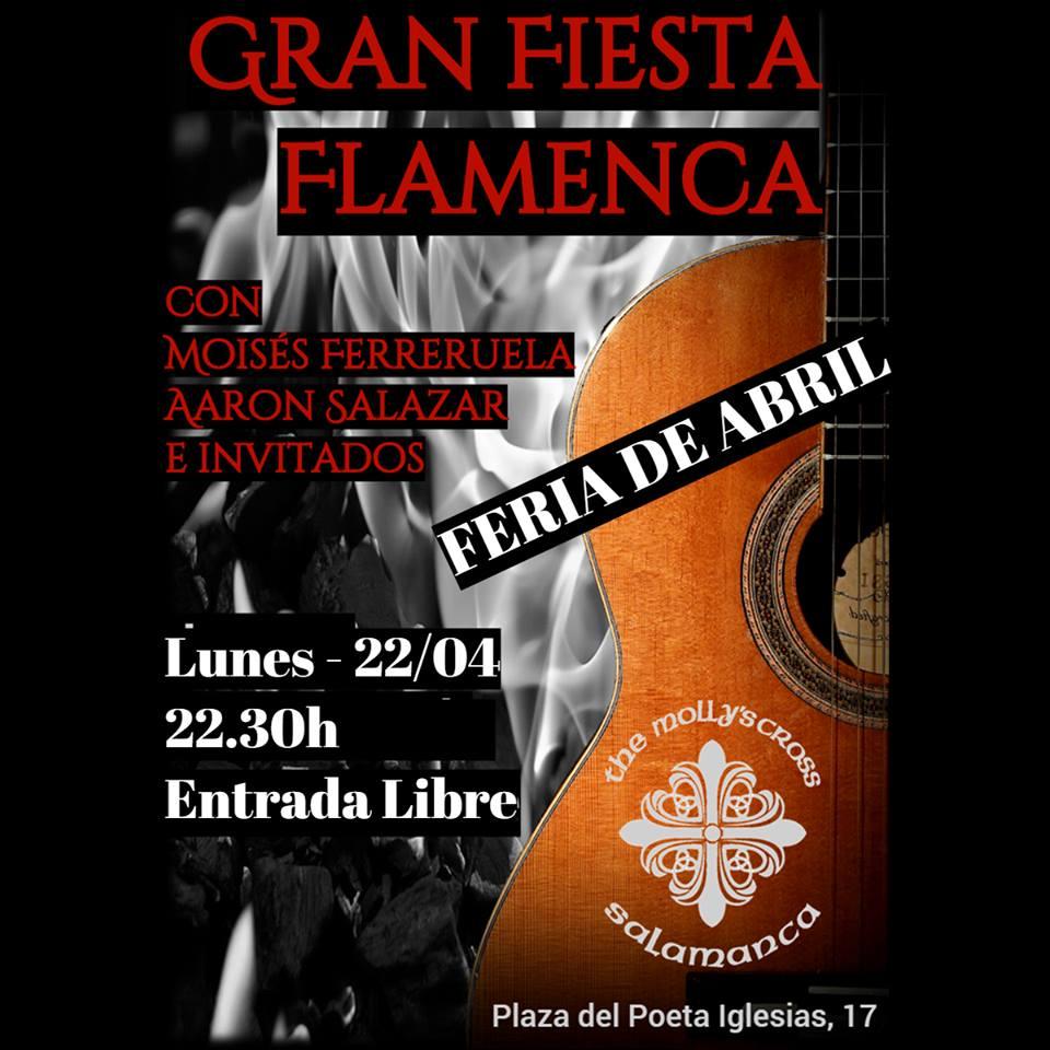 The Molly's Cross Fiesta Flamenca Salamanca Abril 2019
